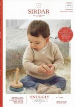 Sirdar Snuggly 100% Merino 4 ply Knitting Pattern Booklet - 5302 Sweater